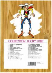Verso de Lucky Luke -31d04- Tortillas pour les Dalton