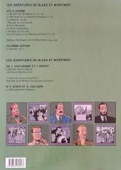 Verso de Blake et Mortimer (Les Aventures de) -14a01- La Machination Voronov