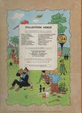 Verso de Tintin (Historique) -12B31- Le trésor de Rackham Le Rouge