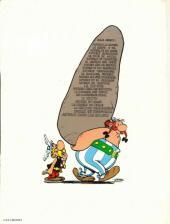 Verso de Astérix -4d1980- Astérix gladiateur