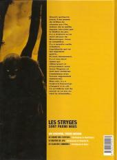Verso de Le maître de jeu -2a2001- Prémonition