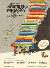 Verso de Spirou et Fantasio -8d81- La mauvaise tête