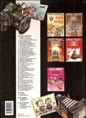 Verso de Spirou et Fantasio -17f90- Spirou et les hommes-bulles