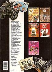 Verso de Spirou et Fantasio -20e1991- Le faiseur d'or
