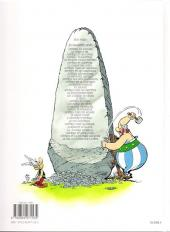 Verso de Astérix -32b2009- Astérix et la rentrée gauloise