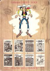 Verso de Lucky Luke -9b72- Des rails sur la prairie