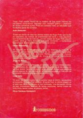 Verso de (AUT) Pratt, Hugo (en espagnol) - La Aventura infinita. Homenaje a: Hugo Pratt