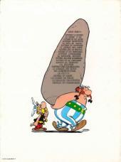 Verso de Astérix -6b78- Astérix et cléopâtre