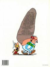 Verso de Astérix -8d1993- Astérix chez les Bretons