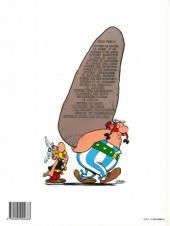 Verso de Astérix -11d1993- Le bouclier Arverne