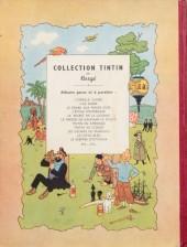 Verso de Tintin (Historique) -6B01- L'oreille cassée