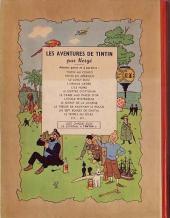 Verso de Tintin (Historique) -9B03- Le crabe aux pinces d'or