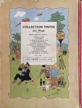 Verso de Tintin (Historique) -9B02- Le crabe aux pinces d'or