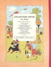 Verso de Tintin (Historique) -12B02- Le trésor de Rackham Le Rouge