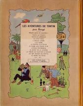 Verso de Tintin (Historique) -13B03- Les 7 boules de cristal