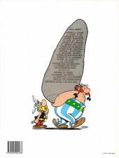Verso de Astérix -15d1990- La zizanie