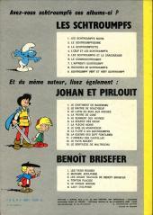 Verso de Johan et Pirlouit -9c1974- La flûte à six schtroumpfs