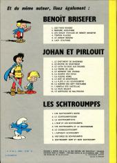 Verso de Johan et Pirlouit -6d74- La source des Dieux