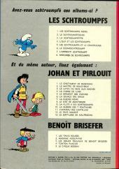 Verso de Les schtroumpfs -8a73- Histoires de Schtroumpfs