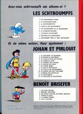 Verso de Les schtroumpfs -3b75- La Schtroumpfette