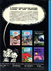 Verso de Spirou et Fantasio -10c75- Les pirates du silence