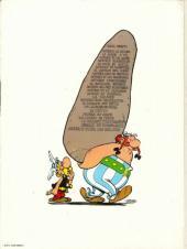 Verso de Astérix -18a81- Les lauriers de César