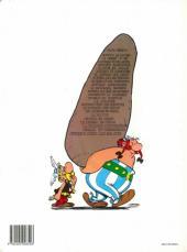 Verso de Astérix -19d1992- Le devin