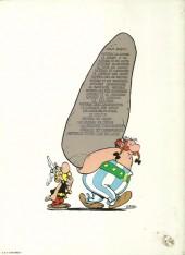 Verso de Astérix -21a1979- Le cadeau de césar