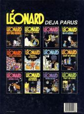 Verso de Léonard -3b1985- Léonard, c'est un quoi, déjà ?