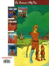 Verso de Les aventures d'Alef-Thau -2a1989- Le prince manchot