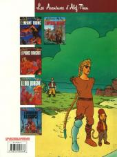 Verso de Les aventures d'Alef-Thau -3a- Le roi borgne