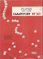Verso de Gaston -9a80- Le cas Lagaffe