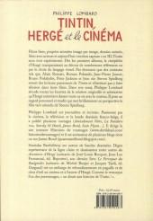 Verso de (AUT) Hergé -194- Tintin, Hergé et le cinéma