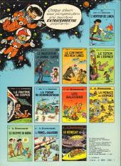 Verso de Le scrameustache -1a1982- L'héritier de l'inca