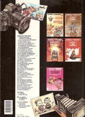 Verso de Spirou et Fantasio -29a1990- Des haricots partout