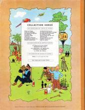 Verso de Tintin (Historique) -12B24- Le trésor de Rackham Le Rouge