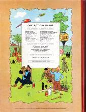 Verso de Tintin (Historique) -17B24- On a marché sur la lune