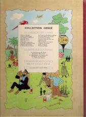 Verso de Tintin (Historique) -10B31- L'étoile mystérieuse