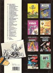 Verso de Spirou et Fantasio -33a1989- Virus