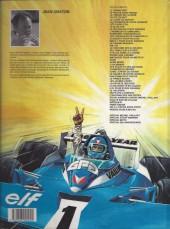 Verso de Michel Vaillant -37b- L'inconnu des 1000 pistes