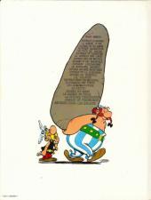 Verso de Astérix -23a1981- Obélix et compagnie
