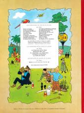 Verso de Tintin (Historique) -9B35- Le crabe aux pinces d'or