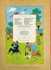 Verso de Tintin (Historique) -14B35- Le temple du soleil