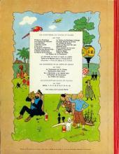 Verso de Tintin (Historique) -20B34- Tintin au Tibet