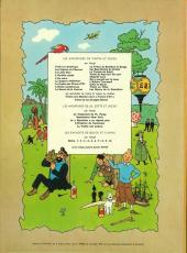 Verso de Tintin (Historique) -10B36- L'étoile mystérieuse