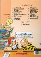 Verso de L'Élève Ducobu -8Ind2006- Punis pour le meilleur et pour le pire