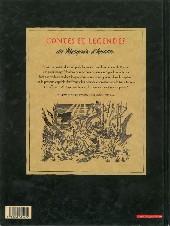 Verso de Le marquis d'Anaon -2a- La vierge noire