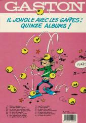 Verso de Gaston -12a1990- Le Gang des gaffeurs
