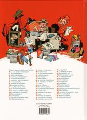Verso de Spirou et Fantasio -52- La face cachée du Z