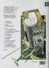 Verso de Largo Winch -11a09- Golden Gate